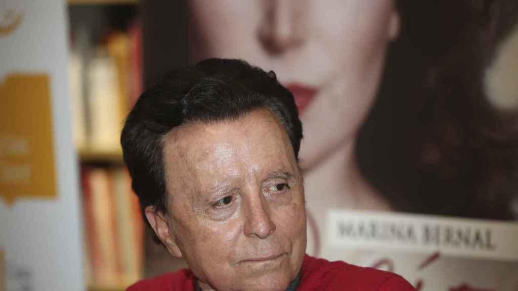 Ortega Cano durante uno de sus últimos actos públicos.