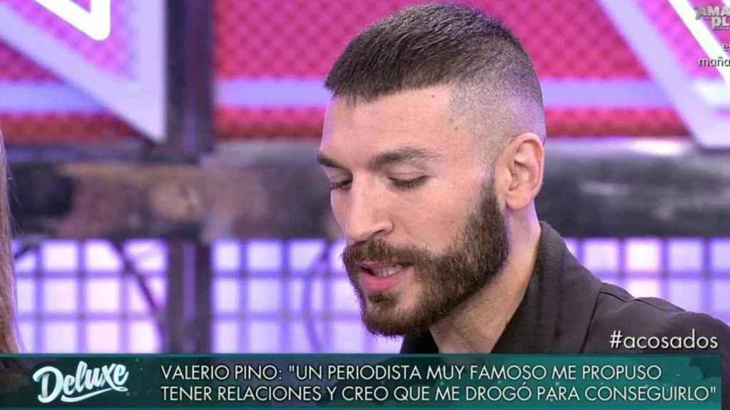 Valerio Pino en 'Sábado Deluxe'.