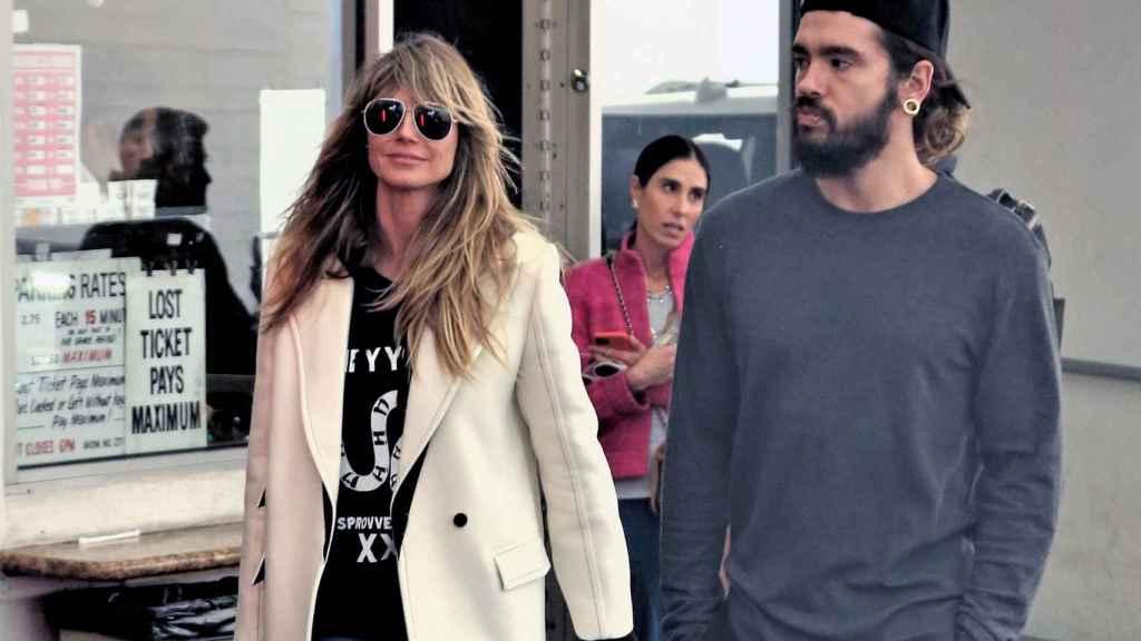 Heidi Klum y su marido Tom Kaulitz en una imagen de archivo en Los Ángeles.