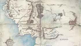 Mapa de la Tierra Media.