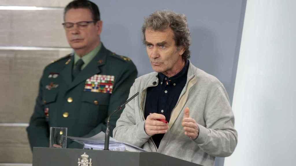 Fernando Simón este martes durante su comparecencia.