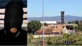 Imagen del recluso en el vídeo en el que difundió el bulo sobre el coronavirus.