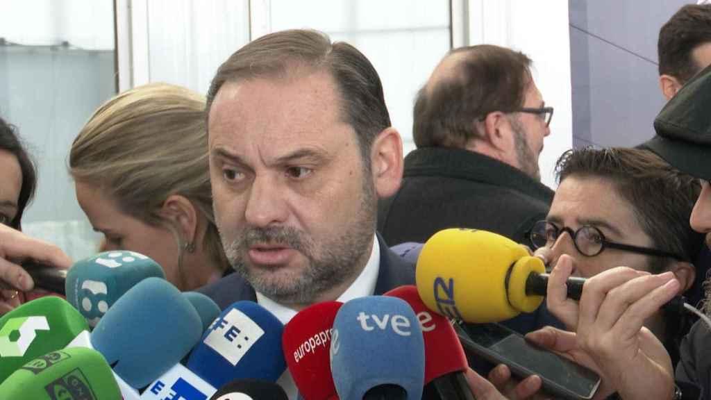 José Luis Ábalos, en declaraciones a la prensa.
