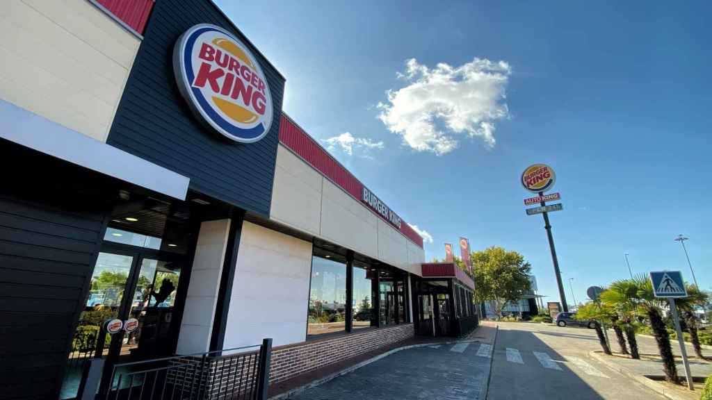 Imagen de uno de los restaurantes Burger King.