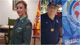 Susana se ofrece como Guardia Civil retirada; y Gerardo lo hace como Policía Nacional.