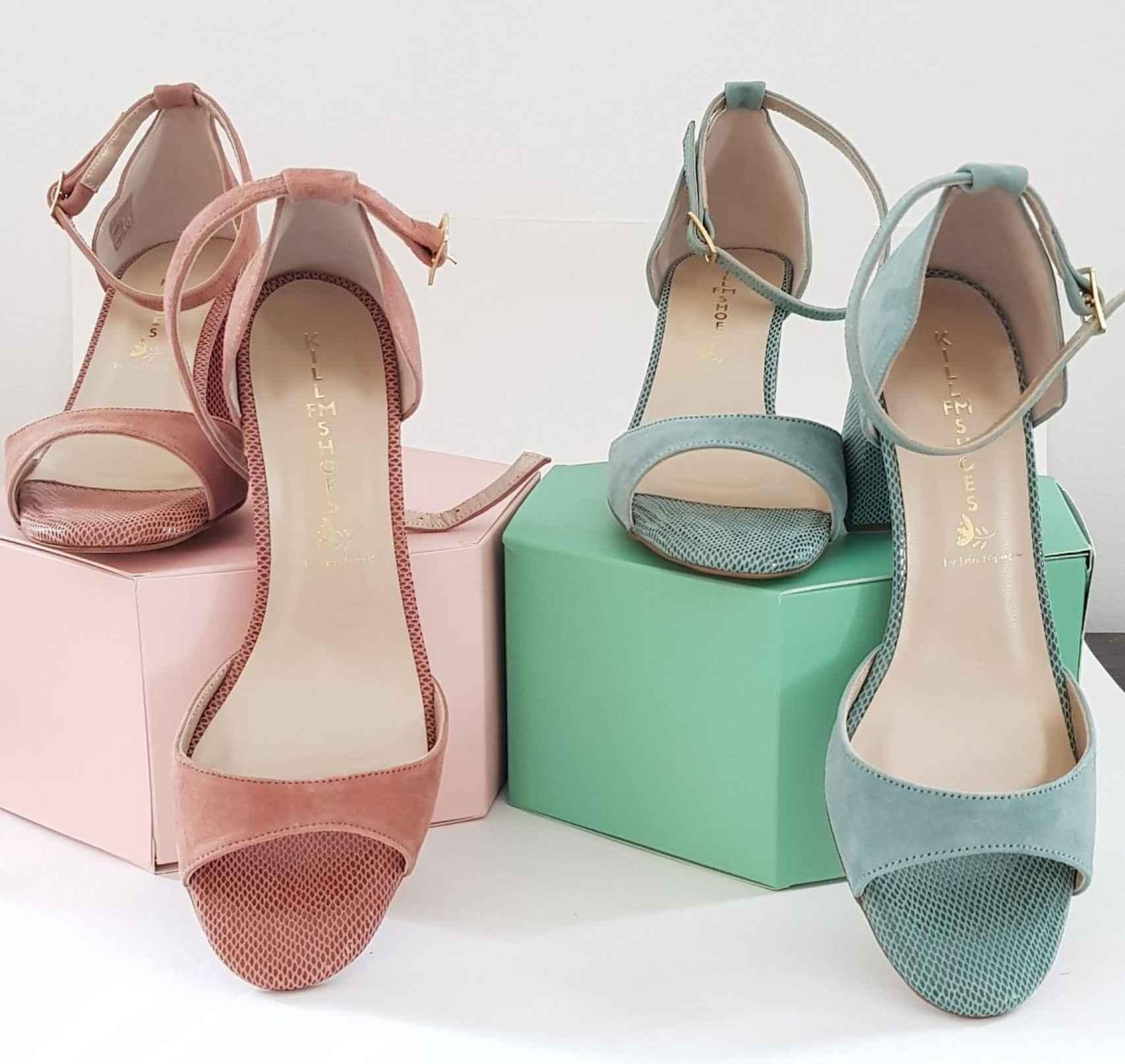 Pueden personalizarse hasta cinco aspectos de las sandalias de Lisa López.