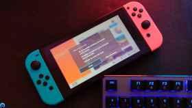 Fallo en una Nintendo Switch.