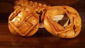 Imagen de archivo de varias barras de pan.