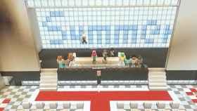 La ceremonia de graduación virtual creada por alumnos en Minecraft