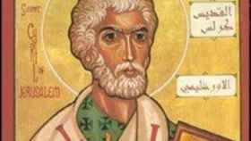 San Cirilo de Jerusalén.