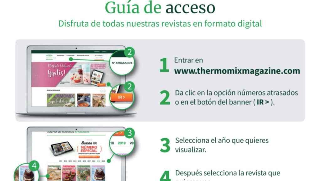 Guía recetas gratis Thermomix.