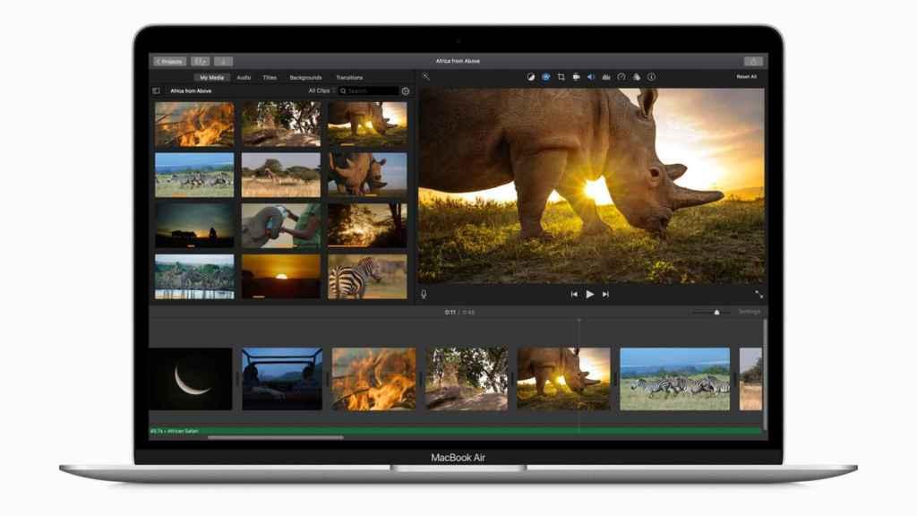 El MacBook Air (en la imagen) tendrá una versión de 12 pulgadas
