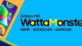 Nuevo Galaxy M21: el superventas de Samsung ahora tiene una batería monstruosa