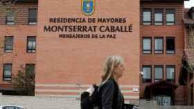 Residencia Montserrat Caballé, en Madrid, donde se han registrado seis fallecimientos.