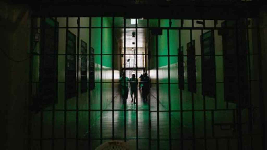 Interior de una cárcel española.
