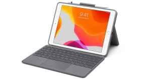 Funda con teclado y trackpad de Logitech para el iPad