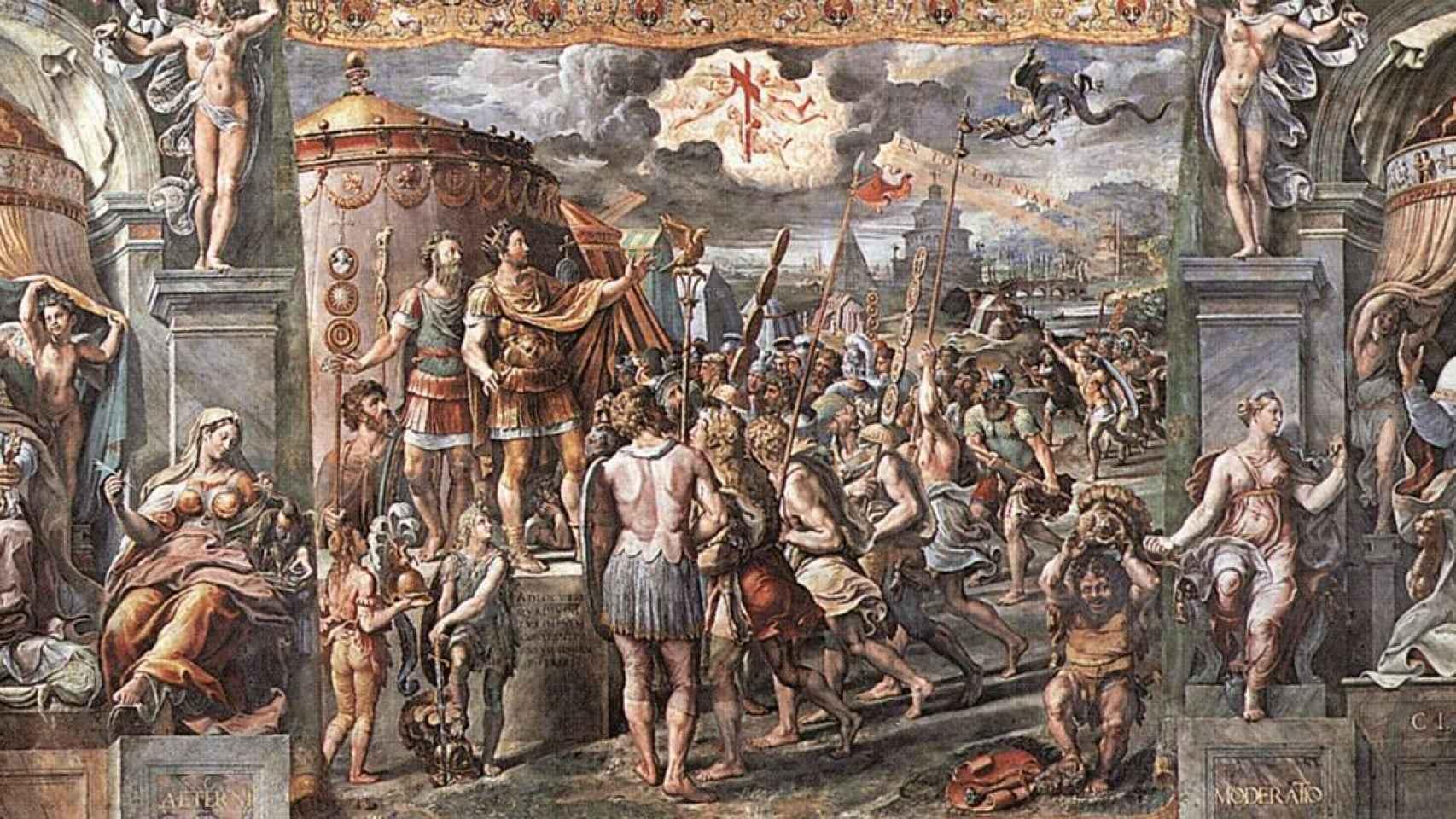 El milagro de Constantino: el verdadero motivo por el que el emperador se convirtió al cristianismo