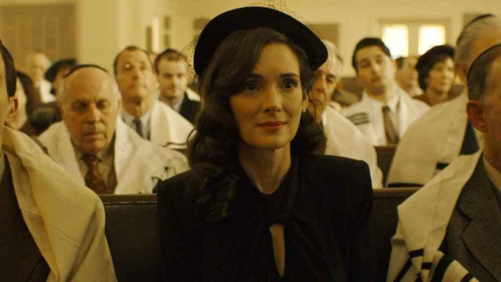 Winona Ryder en la serie.
