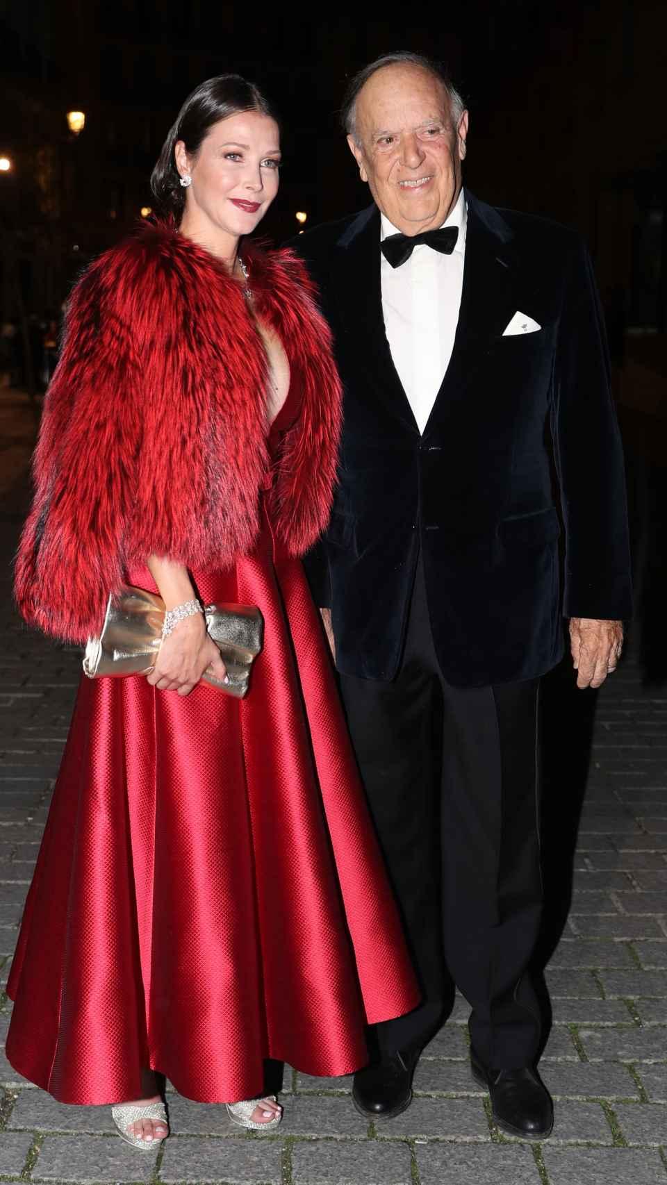 Esther Doña y Carlos Falcó en uno de sus últimos actos públicos juntos.