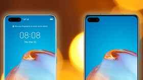 Los Huawei P40 y P40 Pro tendrán dos cámaras frontales cada uno