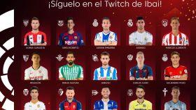 Liga de FIFA 20 de Ibai Llanos