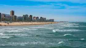 Imagen de la playa de Gandía.