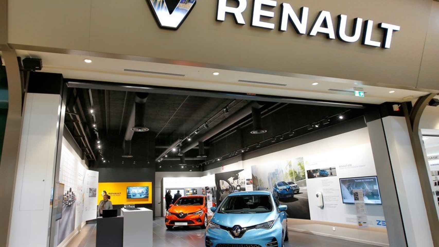 Imagen de un concesionario Renault.