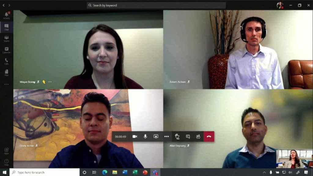 Apps de videoconferencia, como Microsoft Teams, han facilitado el teletrabajo