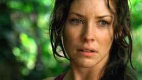 La actriz Evangeline Lilly en Perdidos.