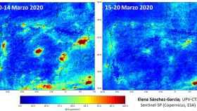 Las emisiones de dióxido de nitrógeno se han reducido en España