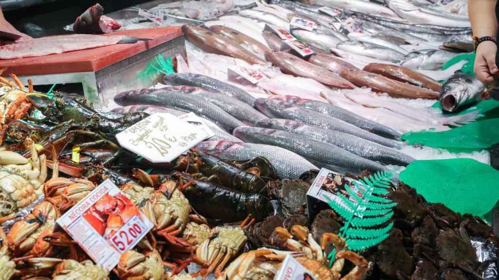 Imagen de archivo de una pescadería.