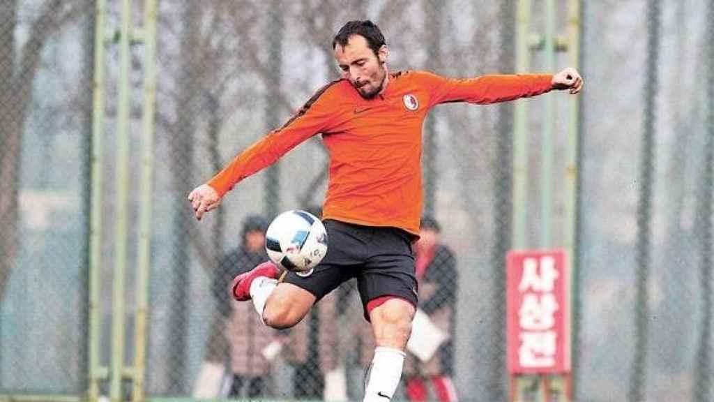 Dani Cancela, con la selección de Hong Kong de fútbol