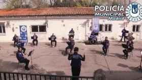 Banda de Música de la Policía Municipal de Madrid.