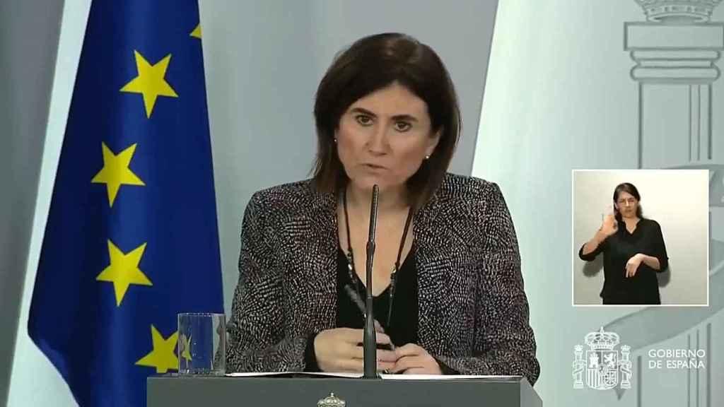 María José Sierra, jefa de Área del Centro de Coordinación de Alertas y Emergencias Sanitarias.