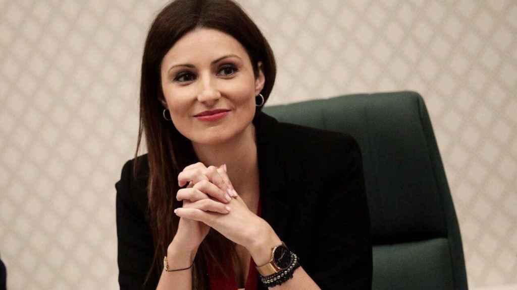 Lorena Roldán, portavoz de la Ejecutiva de Ciudadanos.