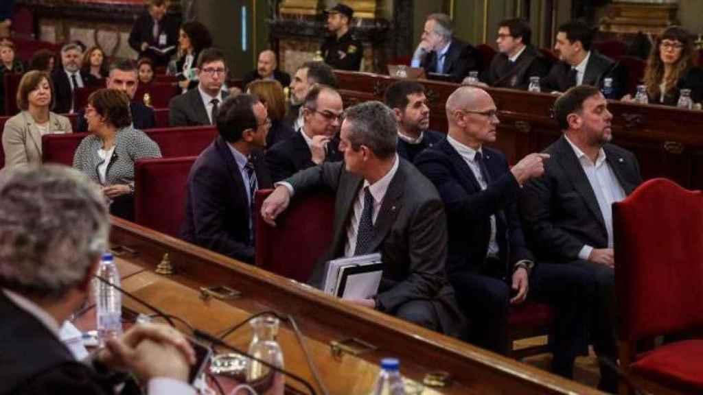Juicio a los dirigentes del proceso independentista catalán.