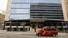 Imagen del Hotel Colón, uno de los primeros que se ha medicalizado en Madrid.