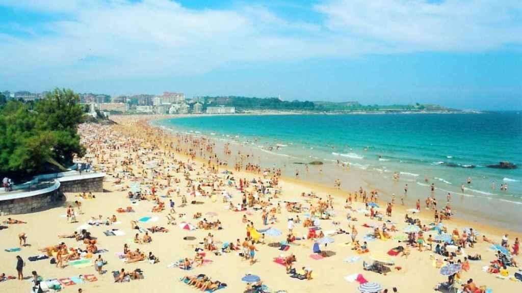 Imagen de archivo de una playa.