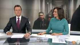Matías Prats y Mónica Carrillo (Antena 3)