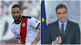Mario Suárez y Pedro Sánchez