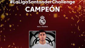 Marco Asensio y el Real Madrid, campeones de LaLiga Santander Challenge de Ibai Llanos