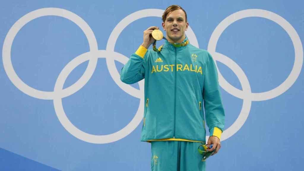 Kyle Chambers, medalla de oro en natación en Río 2016