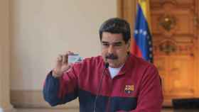Nicolás Maduro, con el chándal del Barça durante la crisis del coronavirus
