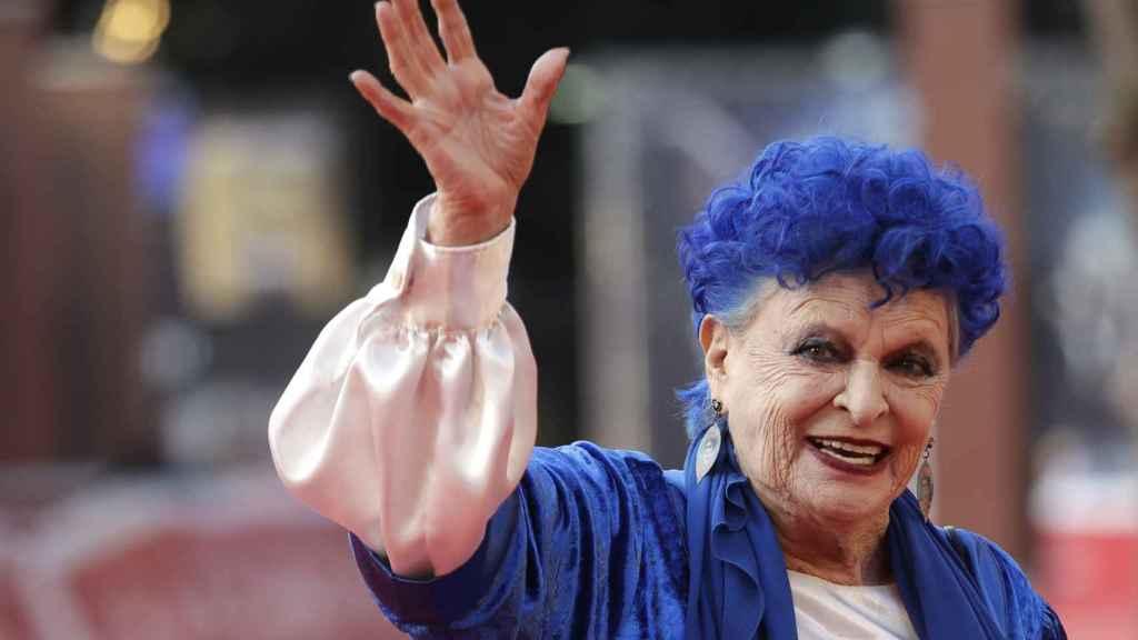 Lucía Bosé en una imagen reciente en el festival de Roma.