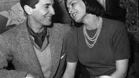 Luis Miguel Dominguín y Lucía Bosé, en 1955.