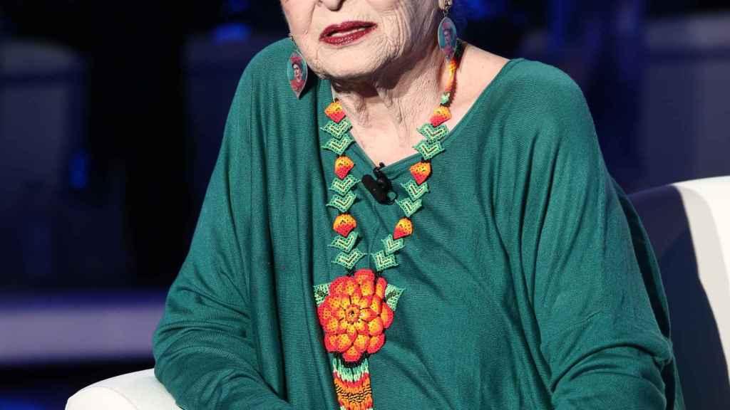 Lucía Bosé en una iamgen de archivo.