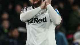 Rooney, con el Derby County