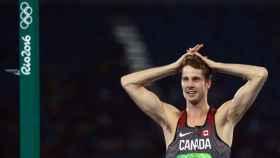Derek Drouin, oro en salto de altura en Río 2016