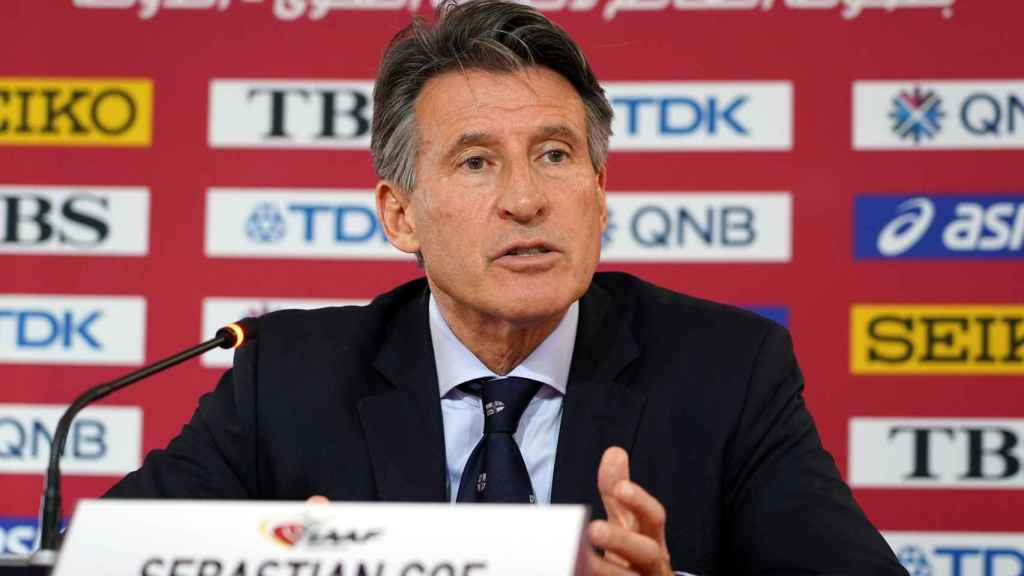 Sebastian Coe, presidente de World Athletics