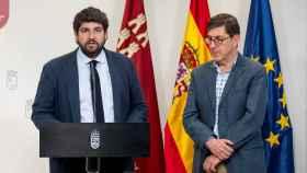 El presidente de Murcia Fernando López Miras